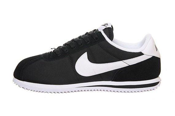 Nike Cortez Classic Neylon Black/White/White