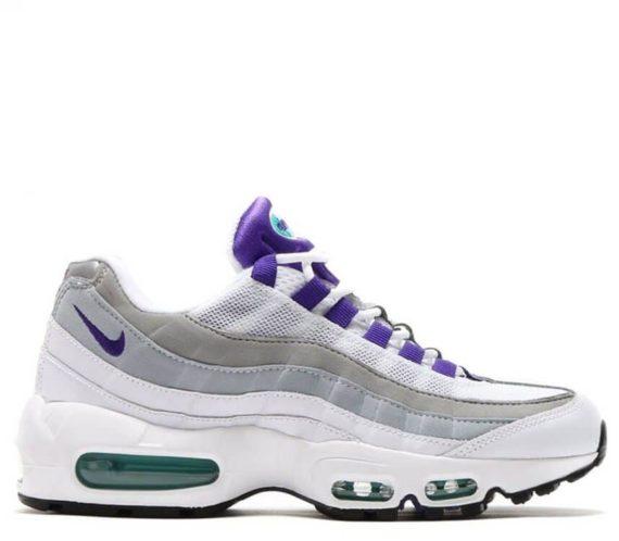 Nike Air Max 95 White Grey Purple «Persian»