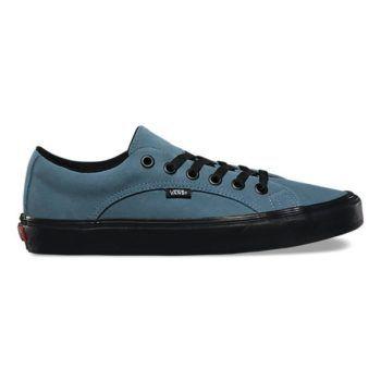 Vans 2-Tone Suede Lampin — Blue Mirage/Black