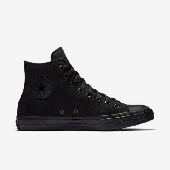 Converse Chuck Taylor All Star II Lunarlon High Top All Black