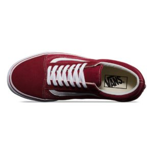 Vans Old Skool Brick Red/True White
