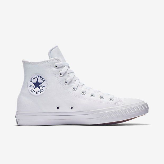 Converse Chuck Taylor All Star II Lunarlon High Top White