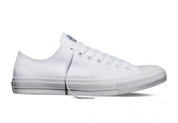 Converse Chuck Taylor All Star II Lunarlon Ox White