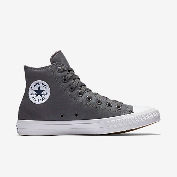 Converse Chuck Taylor All Star II Lunarlon High Top Grey