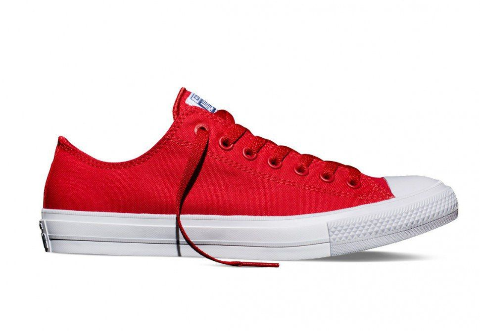 Converse Chuck Taylor All Star II Lunarlon Ox Red