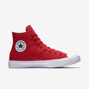 Converse Chuck Taylor All Star II Lunarlon High Top Red
