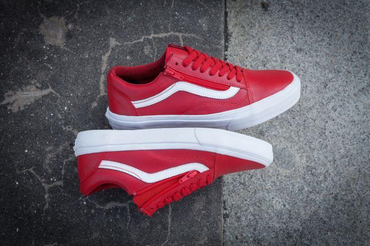Vans Old Skool ZIP Red