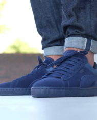 Hot Sale Puma Suede Classic Casual Emboss Peacoat Men V10z1827 — Men Puma Shoes 678_2_LRG