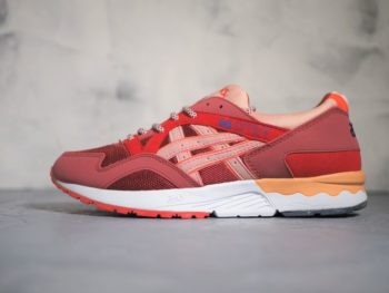 ASICS Gel Lyte 5 «Volcano» Burgundy Red Pink