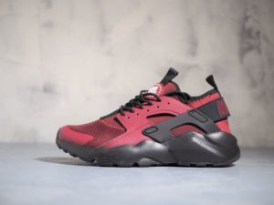 Nike Air Huarache Run Ultra (Team Red / Gym Red — Gym Red — Black)