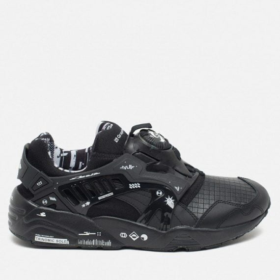Puma x GraphersRock Disc Blaze Black