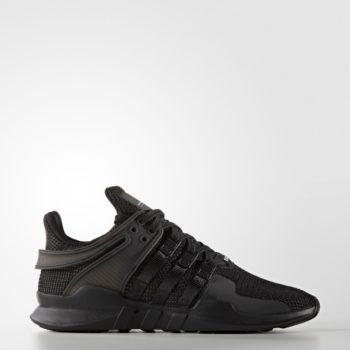 "The Adidas EQT Support ADV ""Triple Black"""