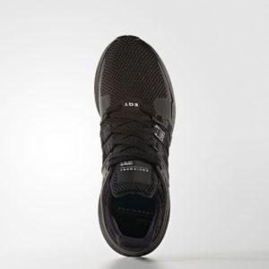 "The Adidas EQT Support ADV ""Triple Black"""