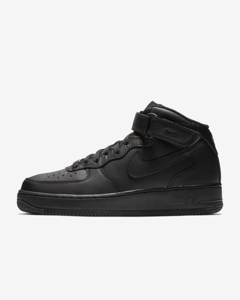 Nike Air Force 1 Mid 07 Black/Black/Black