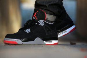 Nike Air Jordan 4 Retro «Bred»