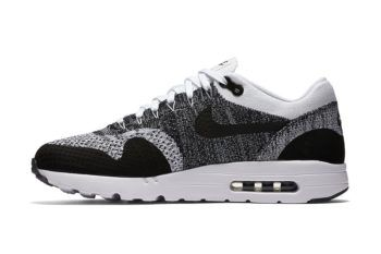 Nike Air Max 1 Ultra Flyknit Black/Grey