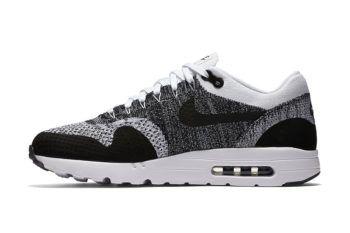 Nike Air Max 1 Ultra Flyknit Black/Grey