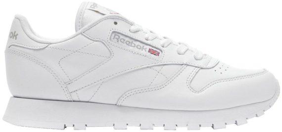 Reebok Classic Leather White/White/Grey