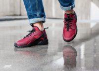 Nike Air Huarache Run Ultra (Team Red / Gym Red — Gym Red — Black)