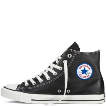 Converse Chuck Taylor All Star Leather Black and White