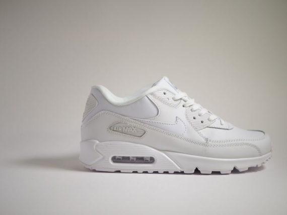 Nike Air Max 90 Essential 'Quadruple White'