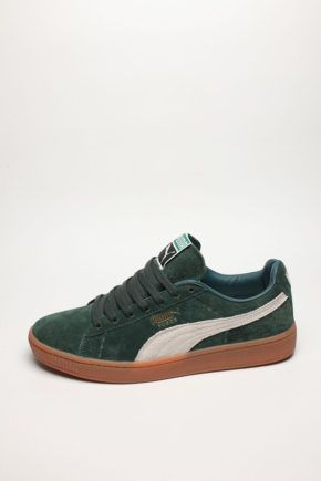 PUMA SUEDE CLASSIC Green/Gum