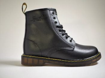Dr. Martens 1460 Black Fur Lined Serena Wyoming (WINTER)