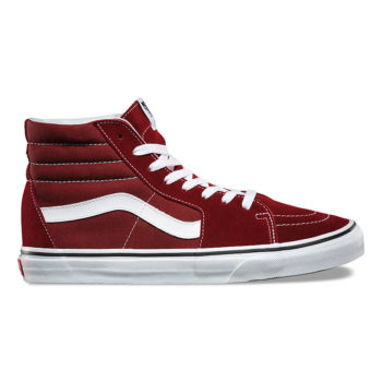 Vans SK8-HI Madder Brown/True White