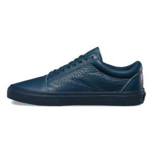 Vans Leather Old Skool Reissue DX Midnight Navy