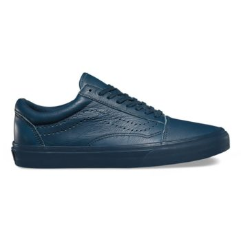 Vans Leather Old Skool Reissue DX Midnight Navy