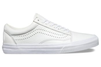 Vans Leather Old Skool Reissue DX White