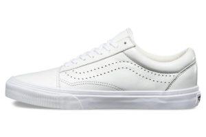 Vans Leather Old Skool Reissue DX White