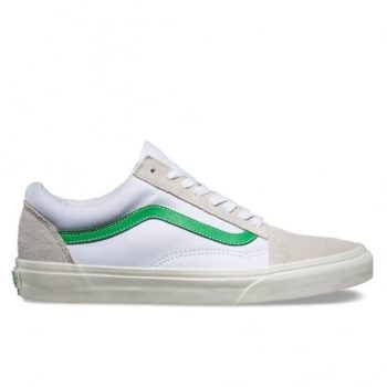 Vans Old Skool Vintage Sport True White/Kelly Green
