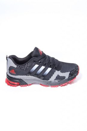 Adidas Marathon Black/White/Red