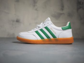 Adidas Spezial White/Gum Leather
