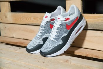 "Nike Air Max 1 Ultra Flynit ""OG Grey-Black"""