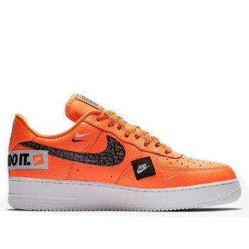 Nike Air Force Premium Low «Just Do It» Orange 905345-800