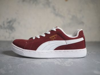 Puma Suede Red Wine