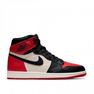 Nike Air Jordan 1 Retro High OG Bred Toe Gym Red/Summit White/Black 555088-610