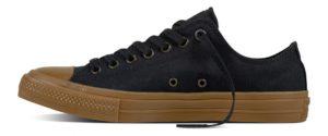 Converse Chuck Taylor II Low Black/Black/Gum